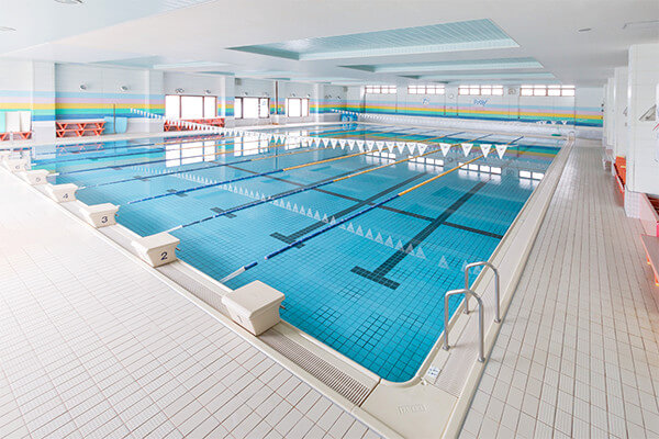 大型プールの写真